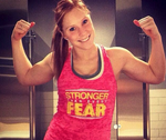 Stronger Than Every Fear (Pink)