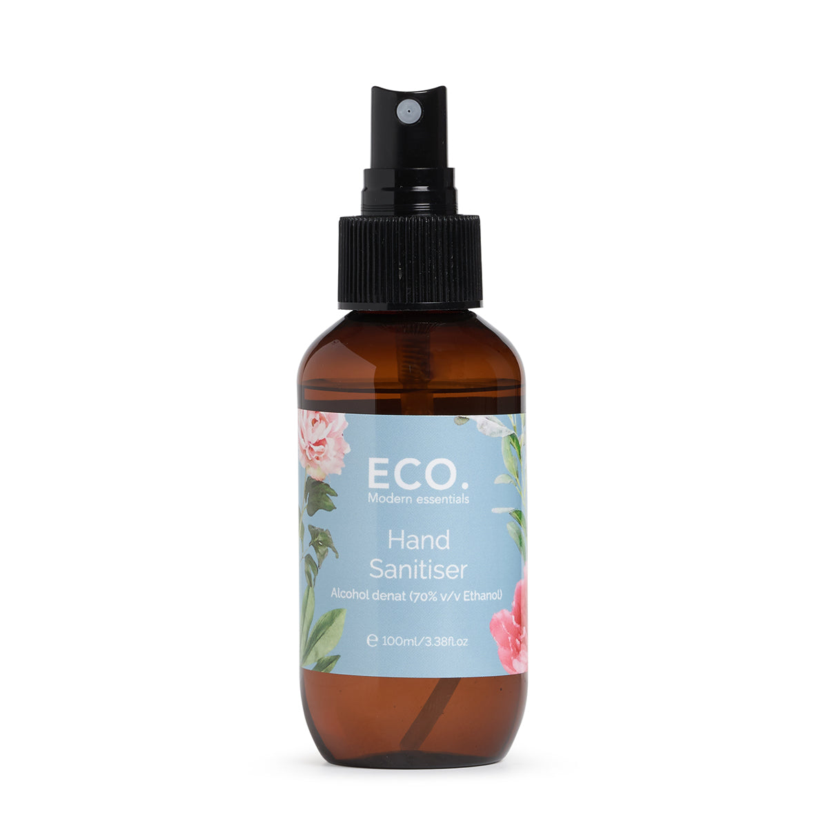 Hand Sanitiser calm earth co eco modern essentials