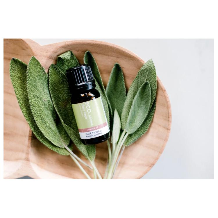 Clary Sage Pure Essential Oil calm earth co