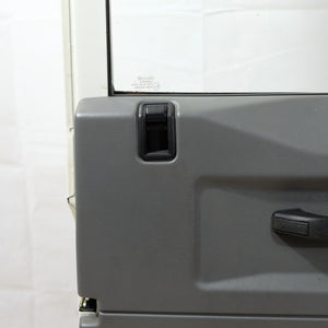 Land Rover Defender OEM Front Doors Pair White [Used] - The Spare Company