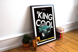 'King Cool Poster - The Spare Company