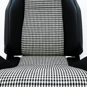 The Hudson Ebony Vinyl Front Seat for Land Rover Defender - The Spare Company