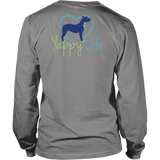 Who Rescued Who Pitbull Long Sleeve Tee