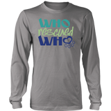 Who Rescued Who Beagle Long Sleeve Tee