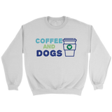 Coffee and Dogs Golden Retriever Crew Neck