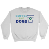 Coffee and Dogs Crew Neck
