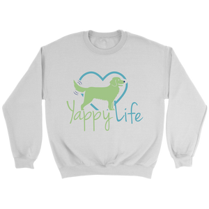 Yappy Life Golden Retriever Crew Neck