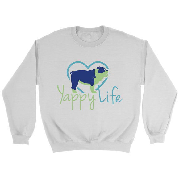Yappy Life Bulldog Crew Neck