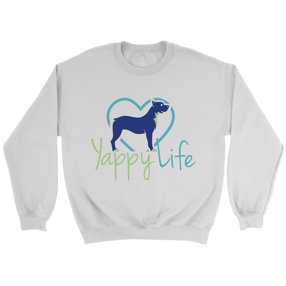 Yappy Life Pitbull Crew Neck