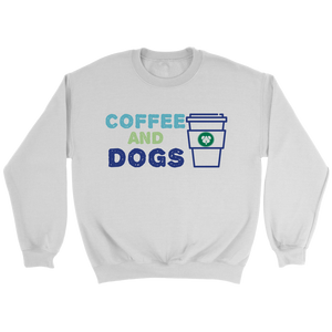 Coffee and Dogs Pitbull Crew Neck