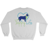 Who Rescued Who Border Collie Crew Neck