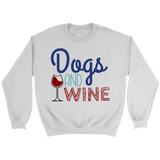 Dogs and Wine Chihuahua Crew Neck