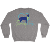 My Kids Have Paws Border Collie Crew Neck