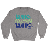 Who Rescued Who Bulldog Crew Neck