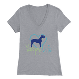 Yappy Life Pitbull V-Neck