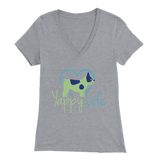 Yappy Life Frenchie V-Neck