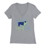 Yappy Life Bulldog V-Neck