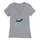 Yappy Life Beagle V-Neck