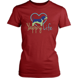 Yappy Life Beagle Crew Neck Tee