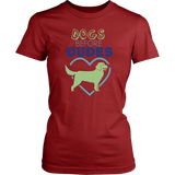 Dogs Before Dudes Golden Retriever Tee