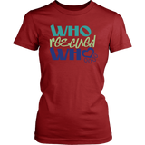 Who Rescued Who Rottweiler Tee