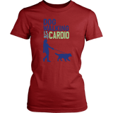 Dog Walking is My Cardio Bulldog Tee