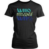 Who Rescued Who Border Collie Tee