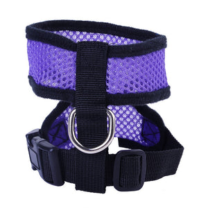 Comfort Nylon Mesh Adjustable Dog Harness