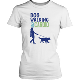 Dog Walking is My Cardio Pitbull Tee