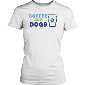 Coffee and Dogs Yorkie Tee