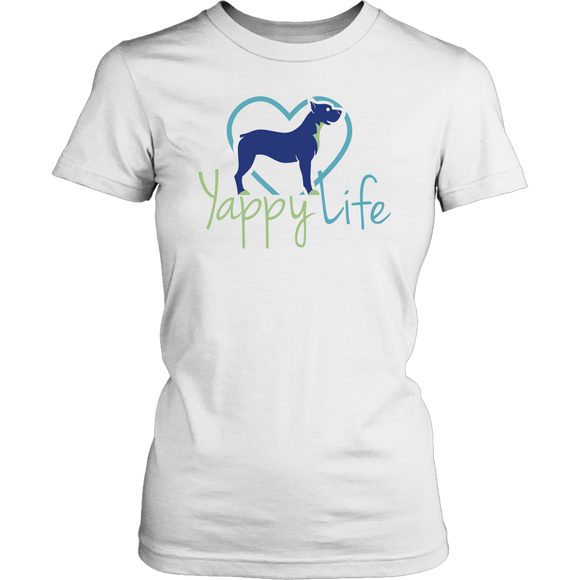 Yappy Life Pitbull Crew Neck Tee