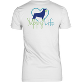 Dogs and Wine Rottweiler Tee