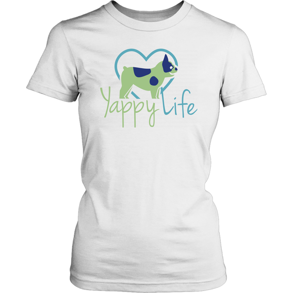 Yappy Life Frenchie Crew Neck Tee