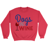 Dogs and Wine Border Collie Crew Neck