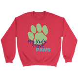 My Kids Have Paws German Shepherd Crew Neck