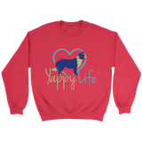 Yappy Life Border Collie Crew Neck