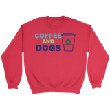 Coffee and Dogs German Shepherd Crew Neck