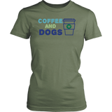 Coffee and Dogs Aussie Tee