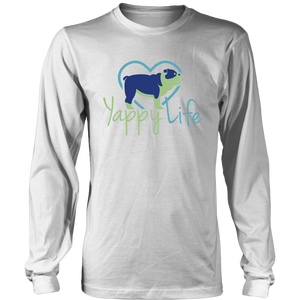 Yappy Life Bulldog Long Sleeve Tee