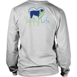 A House Is Not a Home Without a Dog Bulldog Long Sleeve Tee