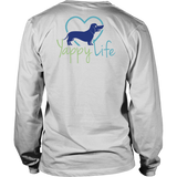 Dog Walking is My Cardio Dachshund Long Sleeve Tee