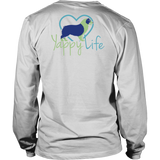 A House Is Not a Home Without a Dog Aussie Long Sleeve Tee