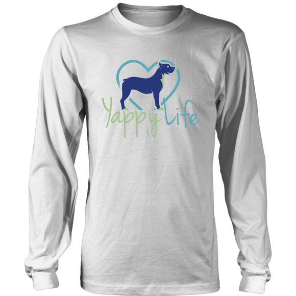 Yappy Life Pitbull Long Sleeve Tee