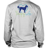 Dogs and Wine Labradoodle Long Sleeve Tee