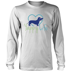 Yappy Life Dachshund Long Sleeve Tee