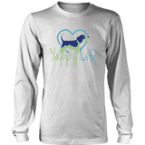 Yappy Life Beagle Long Sleeve Tee