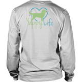 Dog Walking is My Cardio Golden Retriever Long Sleeve Tee