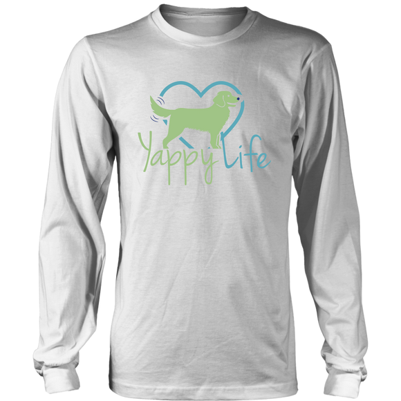 Yappy Life Golden Retriever Long Sleeve Tee