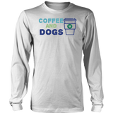 Coffee and Dogs Long Sleeve Tee
