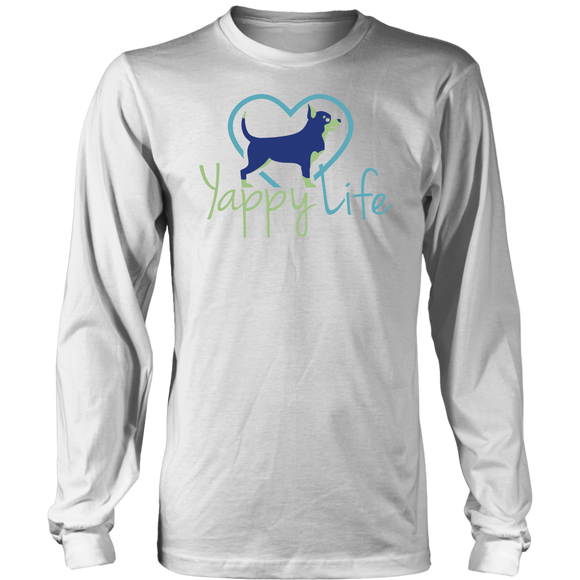 Yappy Life Chihuahua Long Sleeve Tee
